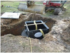 New Forest Falcon Septic Tank
